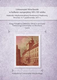 Księga pamiątkowa jubileuszu 200-lecia utworzenia Uniwersytetu we Wrocławiu.